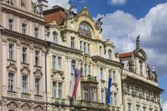 Cidade velha de Praga foto de stock royalty free