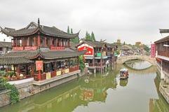 Cidade velha de QiBao foto de stock