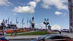 Cidade velha de Québec Fotos de Stock