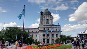 Cidade velha de Québec Foto de Stock