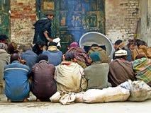 cidade velha de Rawalpindi, Paquistão imagens de stock