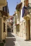Cidade velha de Rethymno imagens de stock