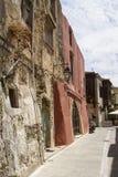 Cidade velha de Rethymno Imagem de Stock