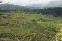 Cidade velha de Ronda na Andaluzia, Espanha imagens de stock royalty free