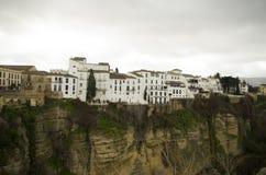 Cidade velha de Ronda na Andaluzia, Espanha foto de stock royalty free