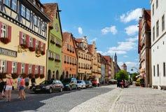 Cidade velha de Rothenburg Imagem de Stock