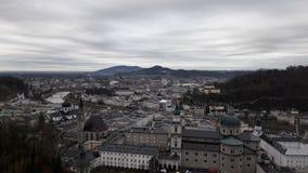 Cidade velha de Salzuburg imagem de stock