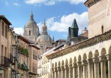 Cidade velha de Segovia, Spain Fotos de Stock