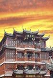 Cidade velha de Shanghai foto de stock