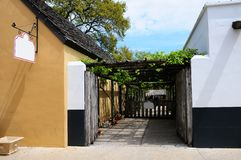 Cidade velha de St Augustine, FL Fotos de Stock Royalty Free