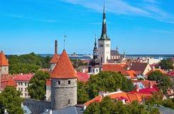 Cidade velha de Tallin fotos de stock royalty free