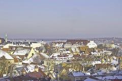 A cidade velha de Tallinn Fotografia de Stock