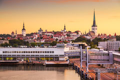 Cidade velha de Tallinn Foto de Stock
