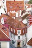 Cidade velha de Tallinn Vista de acima Fotos de Stock