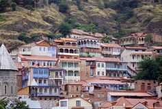 Cidade velha de Tbilisi Fotos de Stock