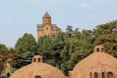 Cidade velha de Tbilisi, da capital de Geórgia imagem de stock royalty free