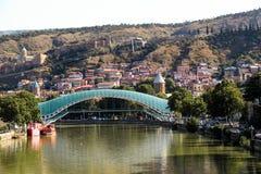 Cidade velha de Tbilisi, da capital de Geórgia fotos de stock