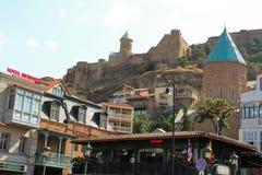 Cidade velha de Tbilisi, da capital de Geórgia Foto de Stock