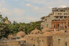 Cidade velha de Tbilisi, da capital de Geórgia fotos de stock royalty free