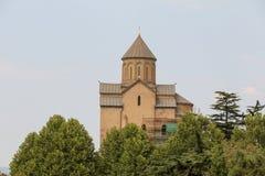 Cidade velha de Tbilisi, da capital de Ge?rgia imagens de stock royalty free