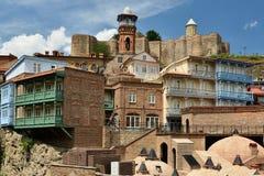 Cidade velha de Tbilisi, Geórgia Fotografia de Stock