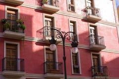 Cidade velha de Valência perto da Espanha do mercado central de Mercado Imagem de Stock