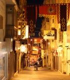 Cidade velha de Valletta na noite Imagem de Stock