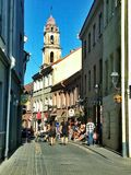 Cidade velha de Vilnius Imagem de Stock Royalty Free