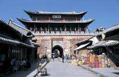 Cidade velha de Weishan na porcelana do sudoeste imagens de stock