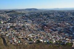 Cidade velha de Zacatecas em M?xico imagem de stock royalty free