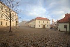 Cidade velha de Znojmo, República Checa Fotos de Stock