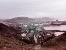 Cidade velha do beira-mar Imagem de Stock Royalty Free