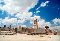Cidade velha do Jerusalém Foto de Stock