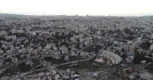 Cidade velha do Jerusalém, Israel vídeos de arquivo