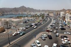 A cidade velha do Muscat - Mutrah fotos de stock