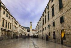 Cidade velha - Dubrovnik Foto de Stock Royalty Free