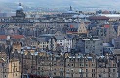 Cidade velha. Edimburgo. Scotland. Reino Unido. Imagem de Stock