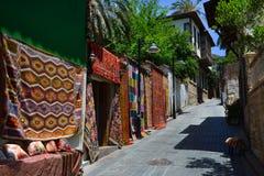 Cidade velha em Antalya, Turquia imagem de stock royalty free