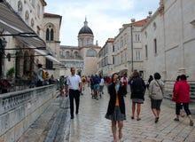 Cidade velha em Dubrovnik Fotografia de Stock Royalty Free