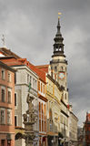 Cidade velha em Gorlitz germany fotografia de stock royalty free