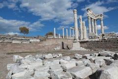 Cidade velha em Hierapolis fotos de stock royalty free