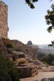 A cidade velha em Jerusalem foto de stock