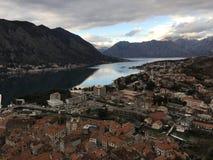 Cidade velha em Montenegro Imagem de Stock