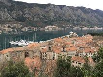 Cidade velha em Montenegro Imagem de Stock Royalty Free