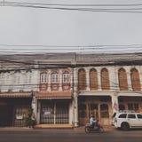 Cidade velha em Phuket Tailândia Fotos de Stock Royalty Free