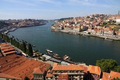 Cidade velha em Porto fotos de stock royalty free