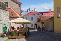 Cidade velha em Tallinn Imagem de Stock