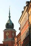 Cidade velha em Varsóvia Fotos de Stock Royalty Free