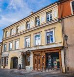 Cidade velha em Vilnius, Lithuania fotos de stock royalty free