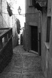 Cidade velha Eriche em Sicília Imagem de Stock